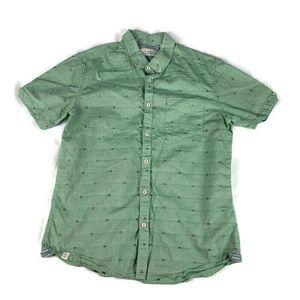 7 Diamonds Shirt Chambray Button Short Sleeve